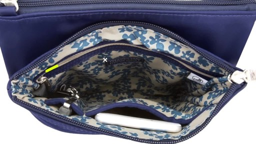 Travelon Anti-Theft Welted Small North/South Crossbody Bag - image 8 from the video