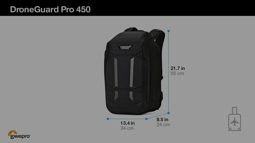 Lowepro DroneGuard Pro 450 Backpack - image 10 from the video