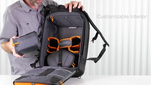 Lowepro DroneGuard Pro 450 Backpack - image 5 from the video