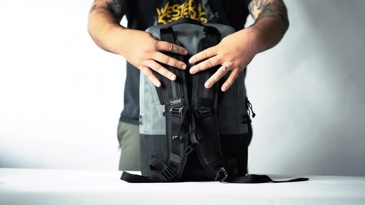 Chrome Industries Urban Ex Daypack Laptop Backpack - image 2 from the video