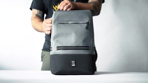 Chrome Industries Urban Ex Daypack Laptop Backpack - image 3 from the video