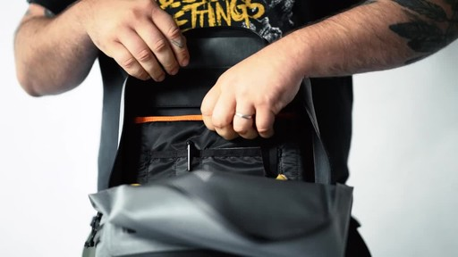 Chrome Industries Urban Ex Daypack Laptop Backpack - image 4 from the video