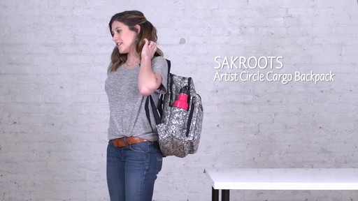 Sakroots Artist Circle Cargo Backpack - image 1 from the video