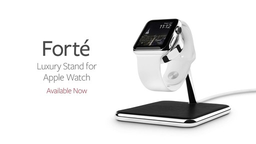 Twelve South Forte Stand and Charging Dock for Apple Watch - image 10 from the video