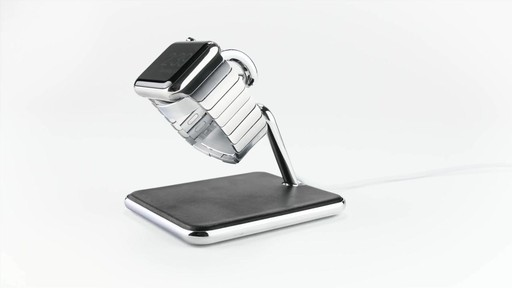 Twelve South Forte Stand and Charging Dock for Apple Watch - image 4 from the video