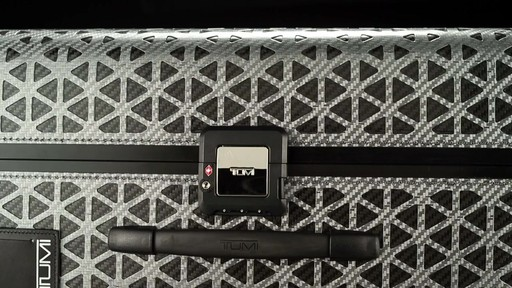 Tumi Tegra Lite X Frame Medium Trip Packing Case - image 7 from the video