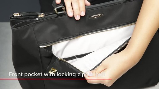 Tumi Voyageur Sheryl Business Tote - image 3 from the video