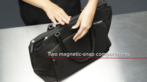 Tumi Voyageur Sheryl Business Tote - image 9 from the video