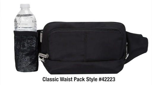 Travelon Anti-Theft Classic Waist Pack - eBags.com - image 10 from the video