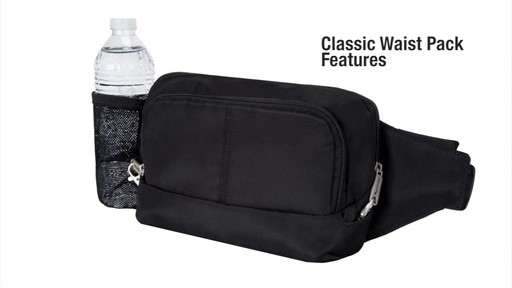 Travelon Anti-Theft Classic Waist Pack - eBags.com - image 2 from the video