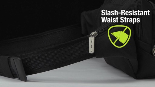 Travelon Anti-Theft Classic Waist Pack - eBags.com - image 6 from the video