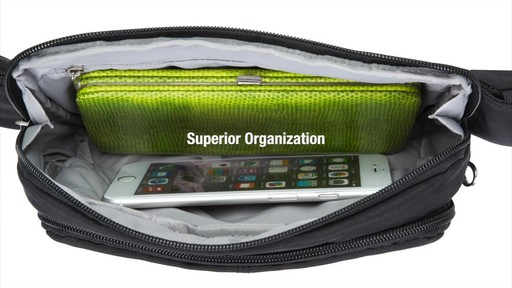 Travelon Anti-Theft Classic Waist Pack - eBags.com - image 7 from the video