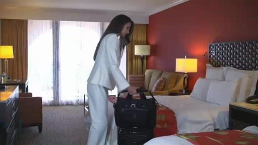 Travelpro Platinum Magna Spinner Technology - eBags.com - image 7 from the video