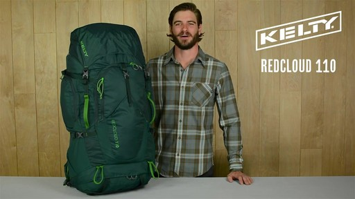 Kelty Redcloud 110 Hiking Backpack - image 1 from the video