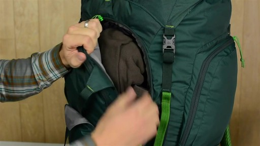 Kelty Redcloud 110 Hiking Backpack - image 3 from the video