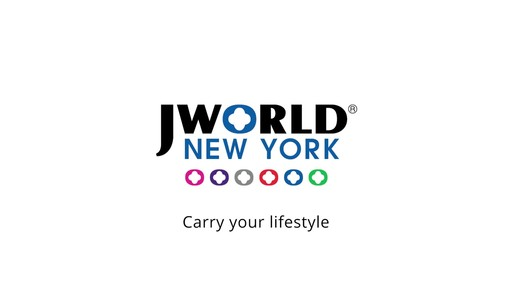 J World New York Cruz Hardside Spinner Luggage - on eBags.com - image 10 from the video