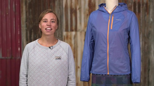 Patagonia Womens Houdini Jacket - image 10 from the video