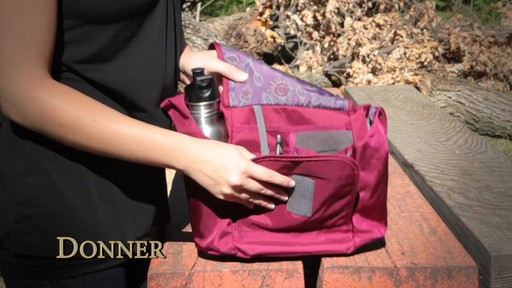Overland Equipment Donner Shoulder Bag - image 3 from the video
