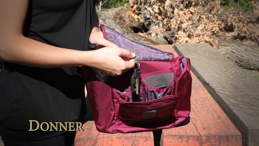 Overland Equipment Donner Shoulder Bag - image 4 from the video