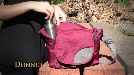 Overland Equipment Donner Shoulder Bag - image 6 from the video