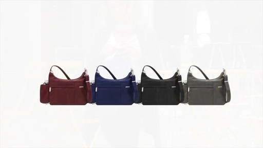 Travelon Anti-Theft Welted Medium Double Zip Crossbody - image 9 from the video