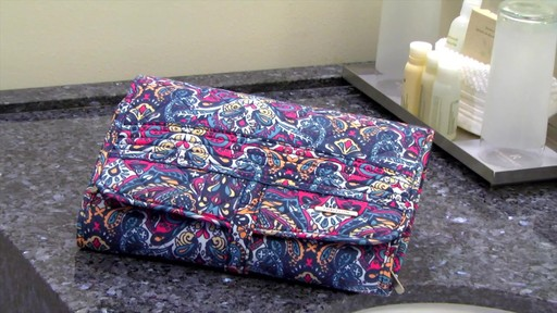 Travelon Boho Trifold Hanging Toiletry Kit - image 3 from the video