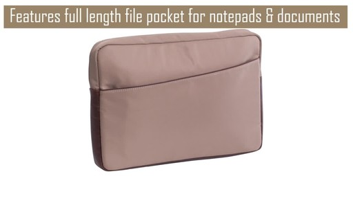 McKlein USA Auburn Laptop Sleeve - image 6 from the video