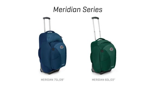 Osprey Meridian Series - image 2 from the video