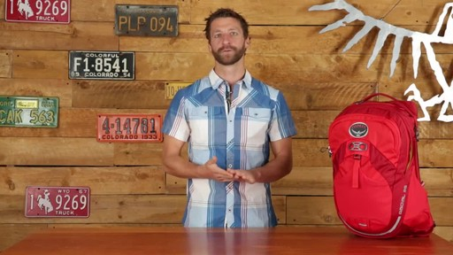 Osprey Radial Cycling Backpacks - image 2 from the video