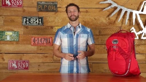Osprey Radial Cycling Backpacks - image 8 from the video