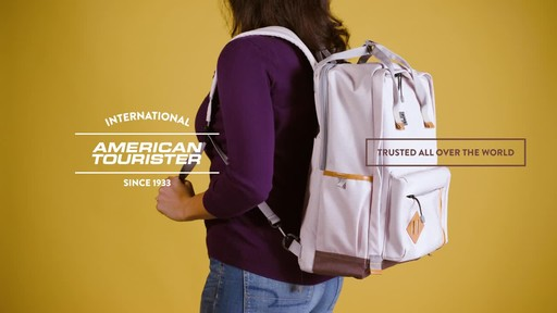 American Tourister Cooper Laptop Backpack - image 10 from the video