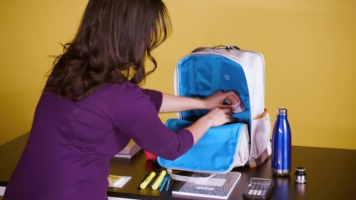 American Tourister Cooper Laptop Backpack - image 3 from the video