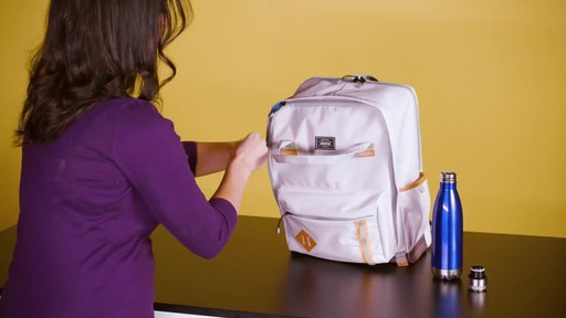 American Tourister Cooper Laptop Backpack - image 6 from the video