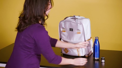 American Tourister Cooper Laptop Backpack - image 7 from the video