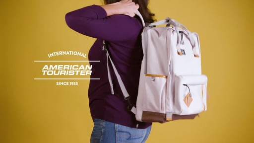 American Tourister Cooper Laptop Backpack - image 9 from the video