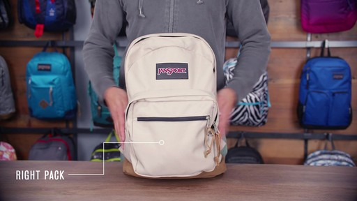 JanSport Right Pack Laptop Backpack - eBags.com - image 10 from the video