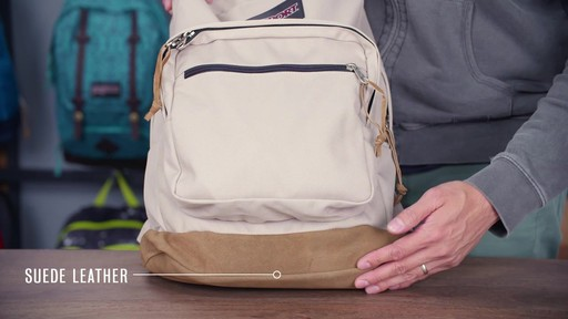 JanSport Right Pack Laptop Backpack - eBags.com - image 3 from the video