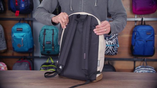 JanSport Right Pack Laptop Backpack - eBags.com - image 5 from the video