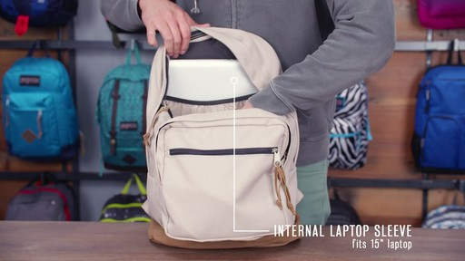 JanSport Right Pack Laptop Backpack - eBags.com - image 6 from the video