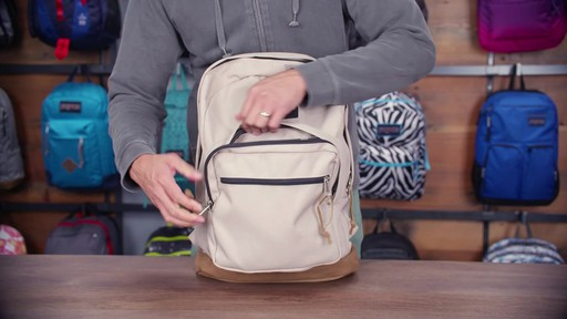 JanSport Right Pack Laptop Backpack - eBags.com - image 7 from the video