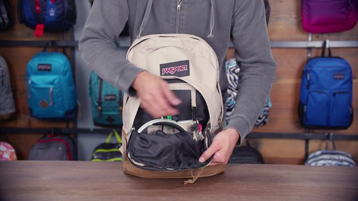 JanSport Right Pack Laptop Backpack - eBags.com - image 8 from the video
