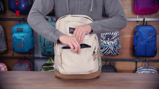 JanSport Right Pack Laptop Backpack - eBags.com - image 9 from the video
