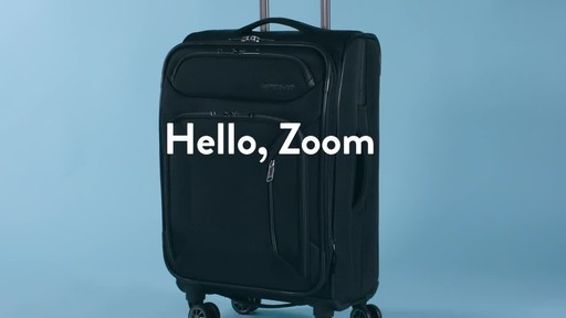 American Tourister Zoom Expandable Spinner Luggage - image 1 from the video