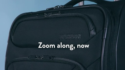 American Tourister Zoom Expandable Spinner Luggage - image 10 from the video