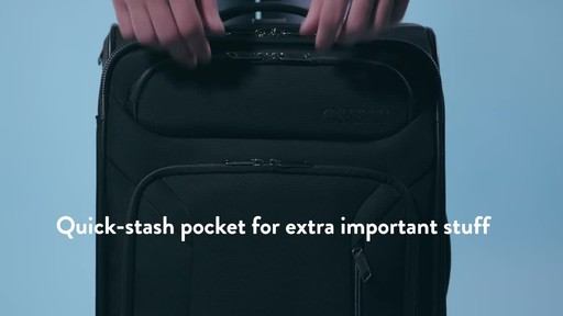 American Tourister Zoom Expandable Spinner Luggage - image 3 from the video