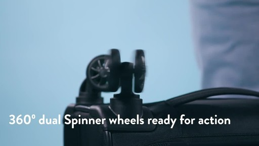 American Tourister Zoom Expandable Spinner Luggage - image 5 from the video
