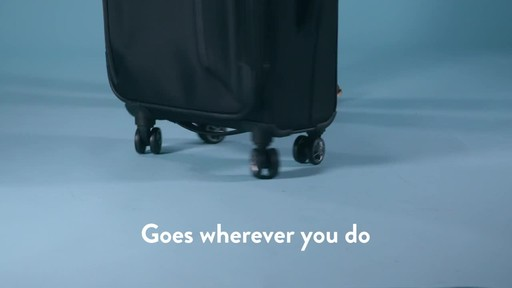 American Tourister Zoom Expandable Spinner Luggage - image 8 from the video