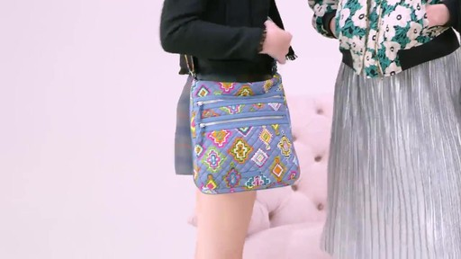 Vera Bradley Iconic Triple Zip Hipster - image 1 from the video
