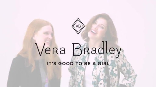 Vera Bradley Iconic Triple Zip Hipster - image 10 from the video