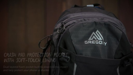 Gregory Endo 3D-Hydro Backpacks - image 7 from the video